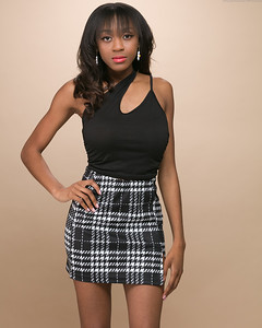 Plaid Skirt-2
