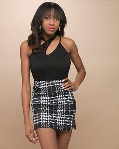 Plaid Skirt-3