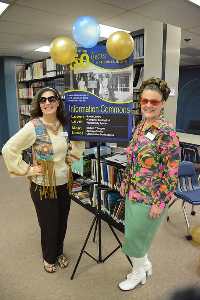 11/5/19 Fifty years ago today, Levitt Library opened to the YC community. Feel free to stop in today from 10:30 - 3:00 for a groovy treat to help celebrate!