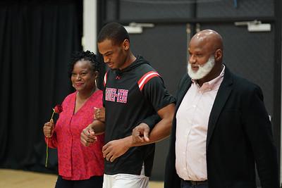 Men's Basketball Senior Night