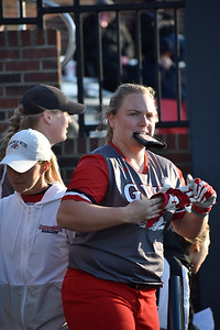 GWU Softball played a hard fought game against Colgate on February 14
