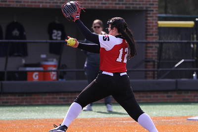 Gardner-Webb's Softball team defeats Mount St. Mary's in their double header today.