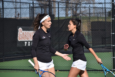 GWU Women's Tennis entered the Big South Conference play with a win against Hampton on February 22.