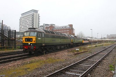 47501 Basingstoke 28/02/20 5Z36 Eastleigh to Crewe with 47805 and 87002