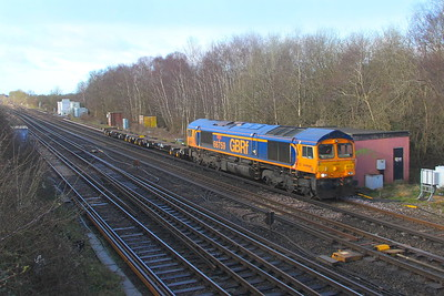 66759 Worting Junction 26/02/20 4E33 Eastleigh to Peterborough