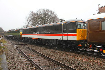 87002 Basingstoke 28/02/20 in the consist of 5Z36 Eastleigh to Crewe