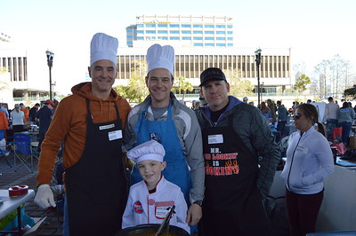 Young Lawyers Compete at Charity Chili Cookoff