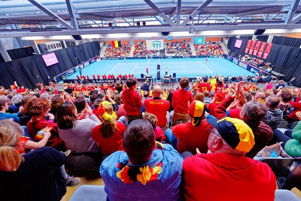 01.05 Court - Fedcup Belgium Kazakhstan 2020