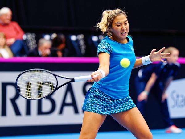 01.04 Zarina Diyas - Fedcup Belgium Kazakhstan 2020