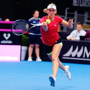 02.01b Elise Mertens - Fedcup Belgium Kazakhstan 2020