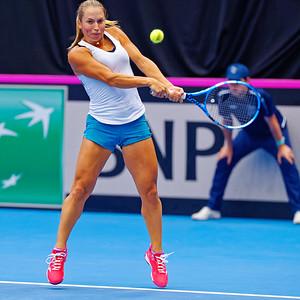 01.02a Yulia Putintseva - Fedcup Belgium Kazakhstan 2020