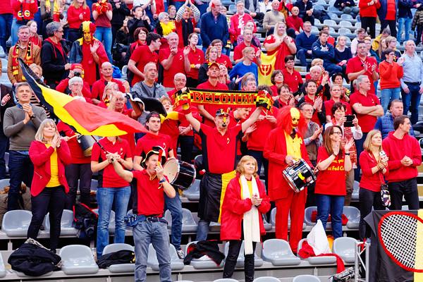 02.01d Supporting Belgium - Fedcup Belgium Kazakhstan 2020