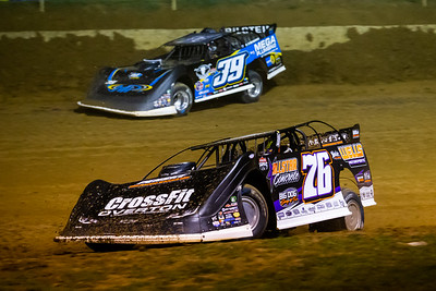 Brandon Overton (76) and Tim McCreadie (39)