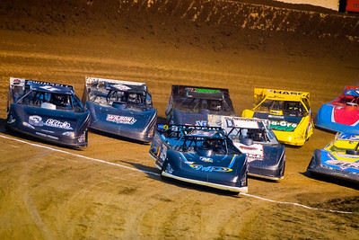 Tim McCreadie (39) and Drew Armstrong (11J) lead a heat race to green