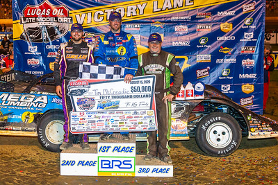 Brandon Overton (L), Tim McCreadie (C) and Jimmy Owens (R)