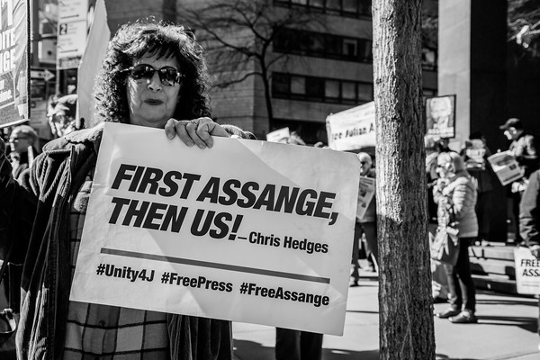 Free Assange NYC