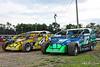 Bruce Rogers Memorial Money Maker 50 Presented by VP Racing Fuels - Grandview Speedway - 4* Brian Hirthler, 117 Kevin Hirthler