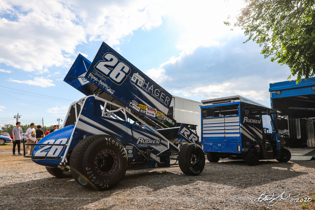 Hodnett Cup - 2020 Pennsylvania Sprint Car Speed Week presented by Red Robin - Grandview Speedway - 26 Cory Eliason