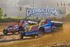 Deron Rust Memorial - Georgetown Speedway - 85 HJ Bunting, 5B Brett Ballard