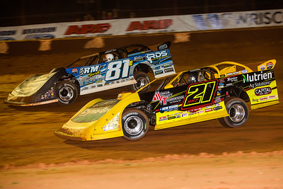Billy Moyer, Jr. (21JR) and Tanner English (81E)