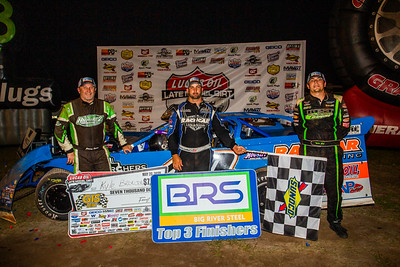Jimmy Owens (L), Kyle Bronson (C) and Tyler Erb (R)