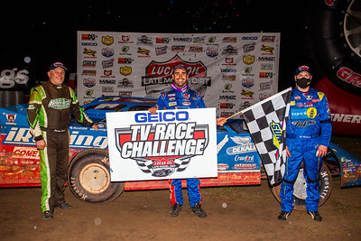 Jimmy Owens (L), Josh Richards (C) and Tim McCreadie (R)