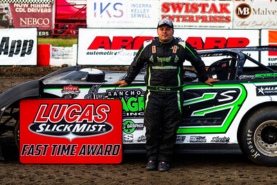 Lucas Oil Slick Mist Fast Time Award winner Stormy Scott