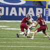 2020 IHSAA 3A State football Championships at Lucas Oil Stadium in Indianapolis, IN. Photo by Eric Thieszen.