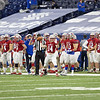 2020 IHSAA 4A State Football Championships, at Lucas Oil Stadium in Indianapolis, IN. 11/27/2020. Photo by Eric Thieszen.
