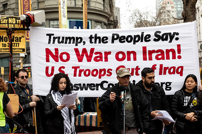 No War On Iran 14 (Terry Scussel)