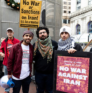 No War On Iran 9 (Terry Scussel)