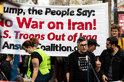 No War On Iran 16 (Terry Scussel)