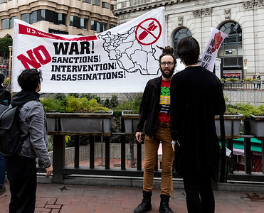 No War On Iran 11 (Terry Scussel)