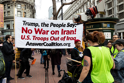 No War On Iran 7 (Terry Scussel)