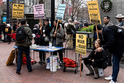 No War On Iran 4 (Terry Scussel)