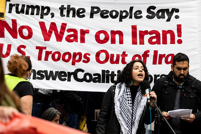 No War On Iran 15 (Terry Scussel)