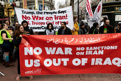 No War On Iran 8 (Terry Scussel)
