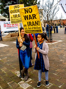 No War in Iran Santa Rossa  Bill Clark-5