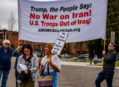 No War in Iran Santa Rossa  Bill Clark-20