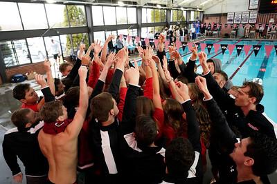 Men's Swimming vs. Wingate