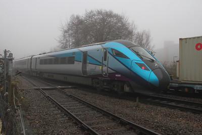 802207 Basingstoke 22/01/20 5X98 Eastleigh to Acton