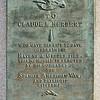 MET 010220 Claude Herbert Plaque