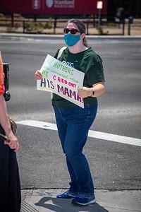 Peninsula Wall of Moms - July 25, 2020