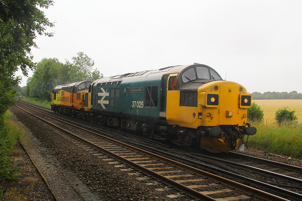 37025 Micheldever 08/07/20 0Z02 Eastleigh to Nottingham Eastcroft