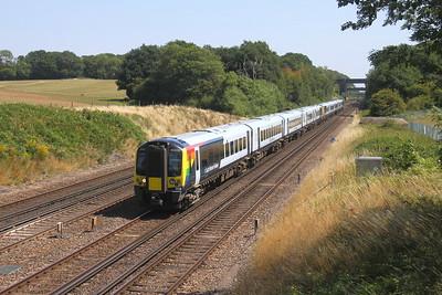 444019 Potbridge 31/07/20 1W65 London Waterloo to Bournemouth