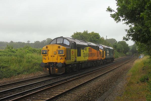 37099 Micheldever 08/07/20 0Z02 Eastleigh to Nottingham Eastcroft