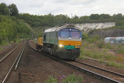 66711 Micheldever 24/07/20 6Y42 Hoo Junction to Eastleigh