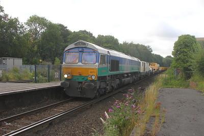 66711 Micheldever 24/07/20 6Y48 Eastleigh to Hoo Junction