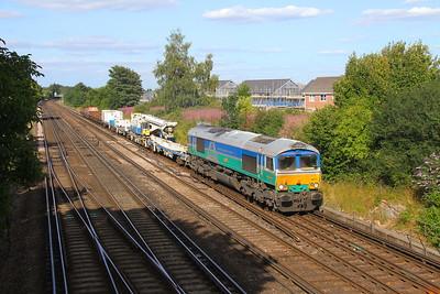66711 Worting Junction 21/07/20 6Y42 Hoo Junction to Eastleigh