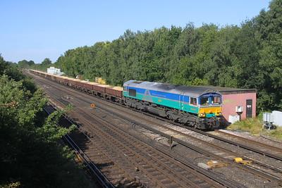 66711 Worting Junction 22/07/20 6Y48 Eastleigh to Hoo Junction